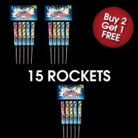 Astro Rockets (3 For 2 Deal)