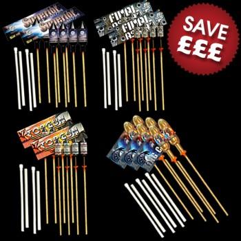 Fireworks Rocket DIY Display 500