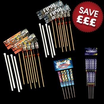 Fireworks Rocket DIY Display 250
