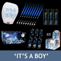 'It's a Boy' Gender Reveal Bundle