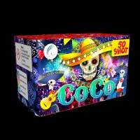 Coco Roman Candle Cake (50 Shots)