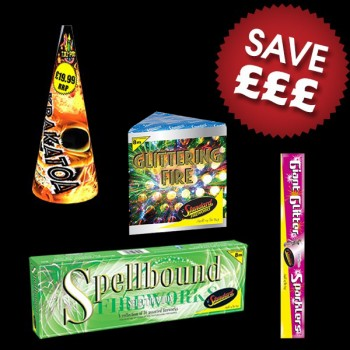 Low Noise Fireworks Display Pack 25