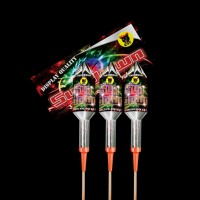 Sundown Rockets (Pack of 3)