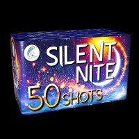 Silent Nite Roman Candle Cake (50 Shots)