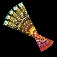 5 x Packs of Mega Coloured Sparklers (30 Sparklers)