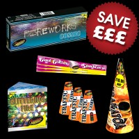 Low Noise Fireworks Display Pack 50