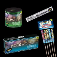 Small Garden Fireworks Package 50