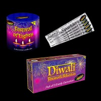 Medium Diwali Fireworks Package 50