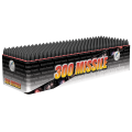 300 Missile Rapid Fire Roman Candle Cake