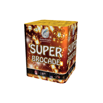 Super Brocade Roman Candle Cake
