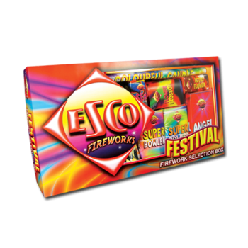 Festival Selection Box (16 Fireworks)