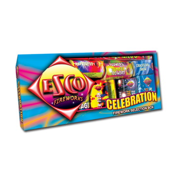 Celebration Selection Box (19 Fireworks)