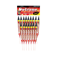 Outrage Rockets (Pack of 16)