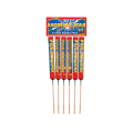 BCUK Shooting Star Rockets (Pack of 6)