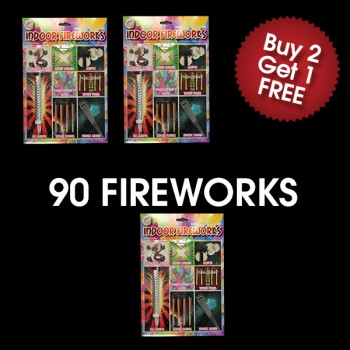 Indoor Firework Pack (3 For 2 Deal)