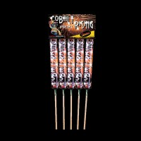 Cobalt Rising Rockets (Pack of 5)