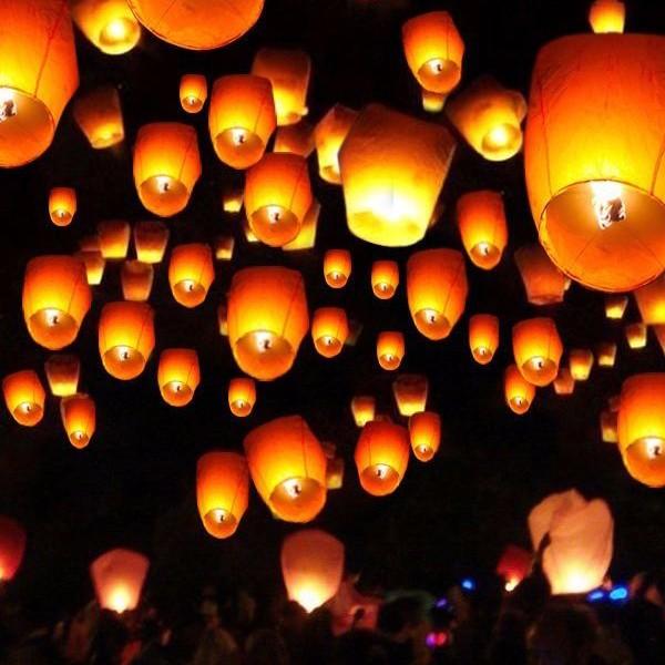 Halloween Sky Lantern Ytm Fireworks
