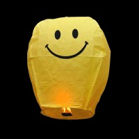 Smiley Face Sky Lantern