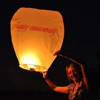 Happy Anniversary Sky Lantern