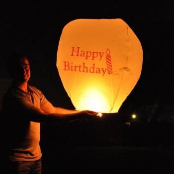 Happy Birthday Sky Lantern