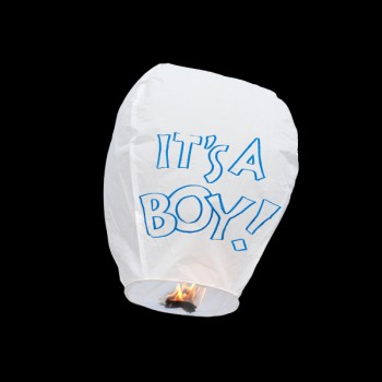 'It's a Boy' Sky Lantern