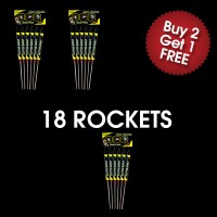 Glitter Burst Rockets (3 For 2 Deal)