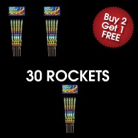 Sky Power Rockets (3 For 2 Deal)