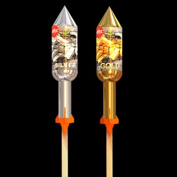 Heavy Metal - Mixed Rockets (Pack of 2)