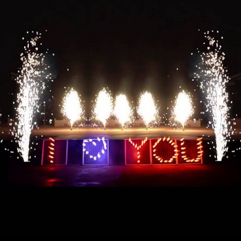 'I LOVE YOU' Fireworks Display Board