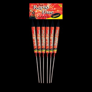 Rapid Fire Rockets (Pack of 6)