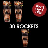 Mystical Blaze Rockets (3 For 2 Deal)