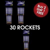 Flastbolt Rockets (3 For 2 Deal)