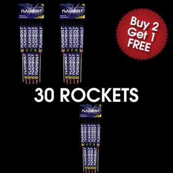 Flashbolt Rockets (3 For 2 Deal)