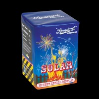 Solar Multi-Effect Roman Candle Mine Cake (16 Shots)