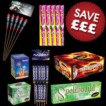 Fireworks Display Pack 100