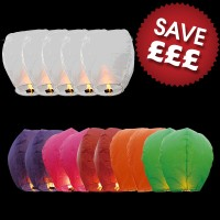 Sky Lantern Display Pack
