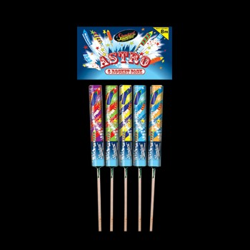 Astro Rocket Pack (Pack of 5)