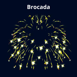 Brocada Firework Effect