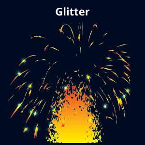 Glitter Firework Effect