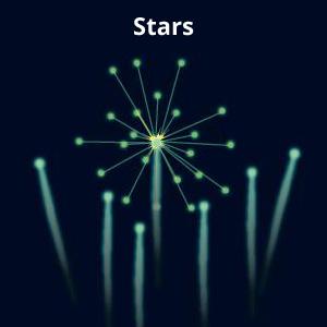 Stars Firework Effect