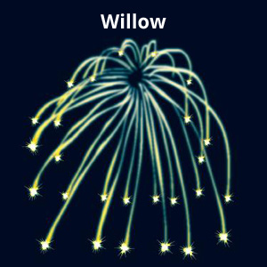 Willow Firework Effect