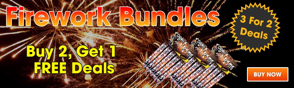 Fireworks Bundles - 3 For 2 Deals