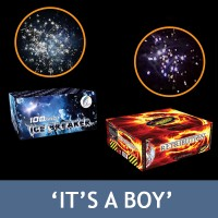 It's a Boy Gender Reveal Firework Bundle