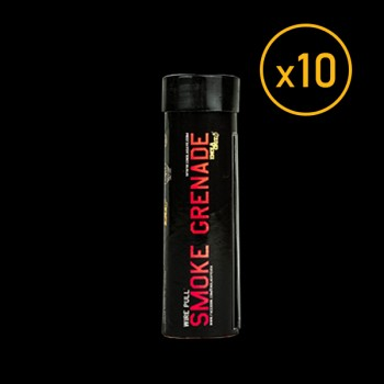 Pack of 10 Wire Pull Smoke Grenade WP40