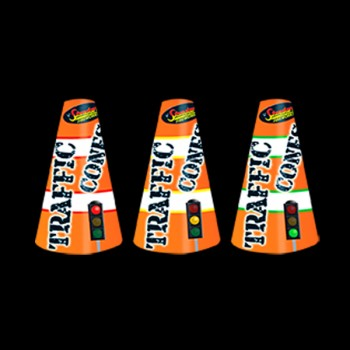 Traffic Cones Fountains (3 Pack)