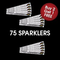 Medium Outdoor Sparklers (3 For 2 Deal)