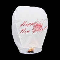 'Happy New Year' Sky Lantern