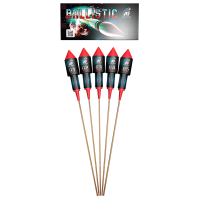AF Ballistic Rocket Pack (Pack of 5)